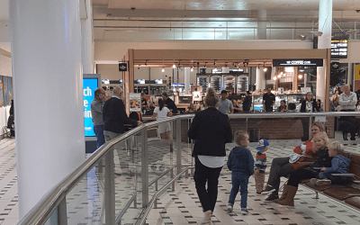 Brisbane International Airport Arrivals [Curbside Pick-Up Instructions for Passengers]